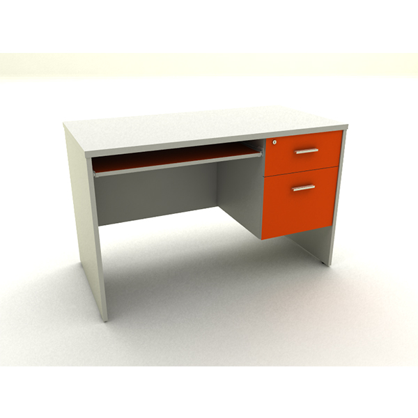 โต๊ะคอมพิวเตอร์ ขนาด 120x60x75 Cm.