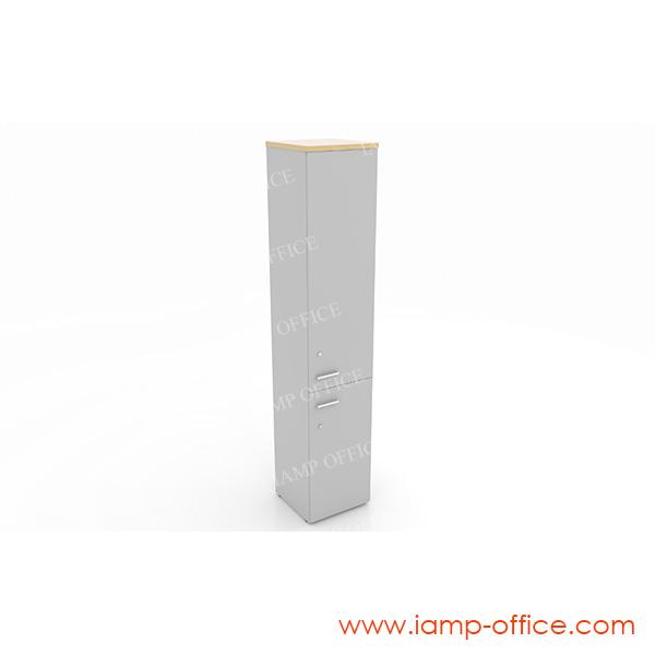 ตู้เอกสารสูงบนบานเปิด-ล่างบานเปิด  420 OOH