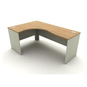 โต๊ะทำงานโล่ง L-SHAPE รุ่น TWH 8266L