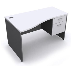 โต๊ะทำงาน 2 ลิ้นชัก ด้านซ้าย รุ่น TWH 1220-68