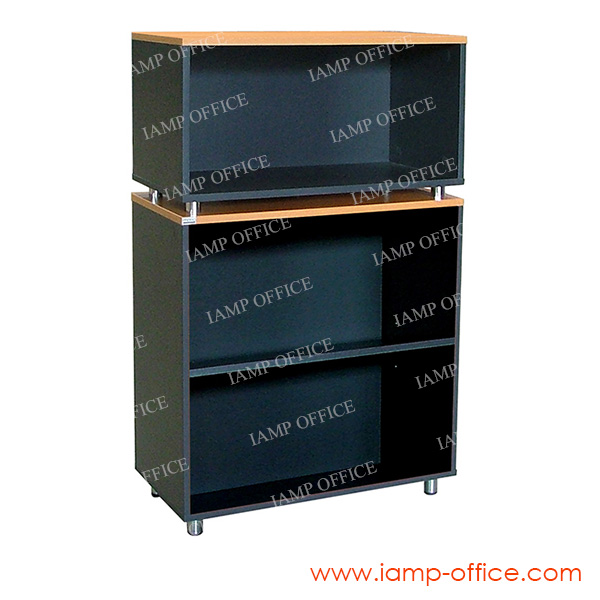 LK 127 C ตู้เอกสารสูงโล่ง ขนาด 80x40x130.6 Cm.