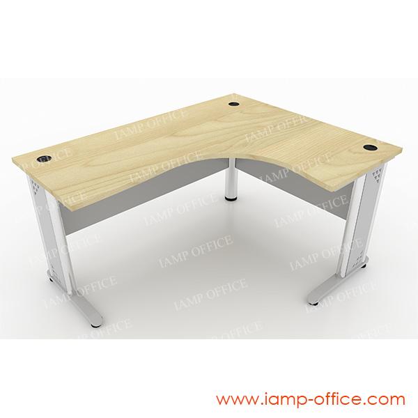 โต๊ะทำงานขาเหล็ก L-SHAPE – 66R