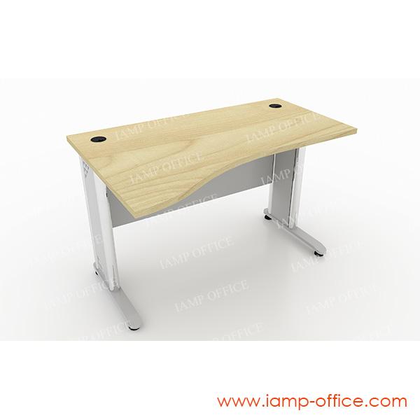 โต๊ะทำงานขาเหล็ก S-SHAPE -86