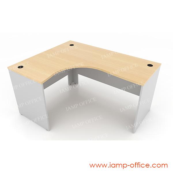 โต๊ะทำงานโล่ง แบบ L-SHAPE – 66L