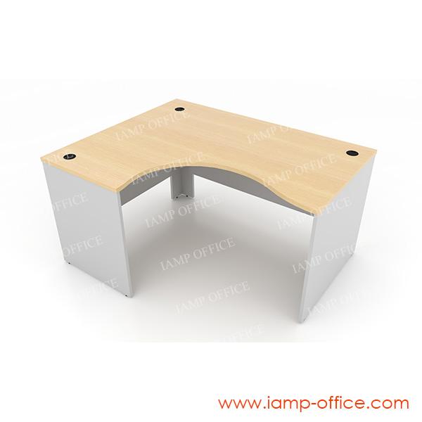 โต๊ะทำงานโล่ง แบบ L-SHAPE – 68L