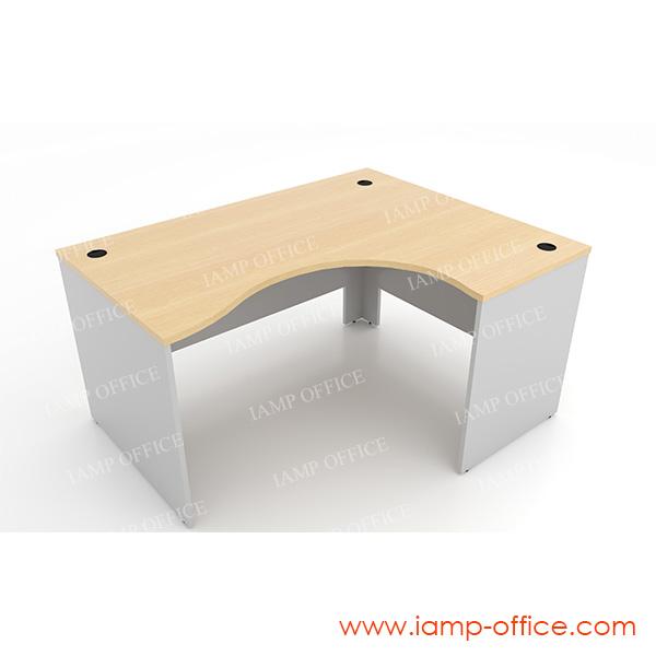 โต๊ะทำงานโล่ง แบบ L-SHAPE – 86R