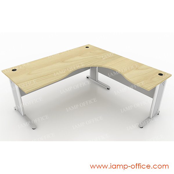 โต๊ะทำงานขาเหล็ก L-SHAPE – 18R