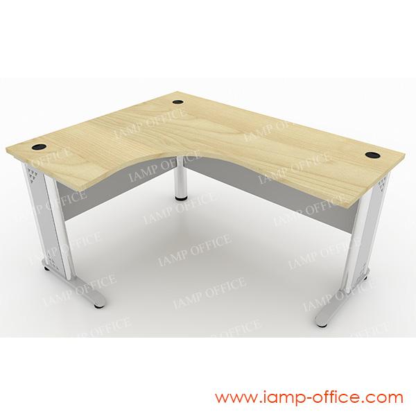 โต๊ะทำงานขาเหล็ก L-SHAPE – 66L