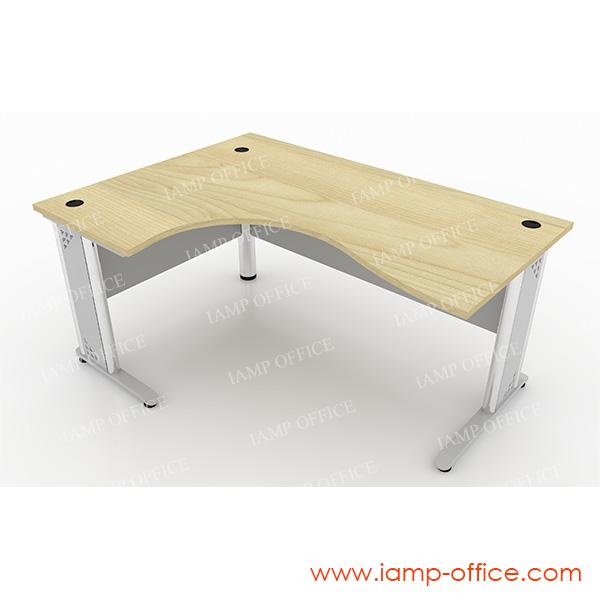 โต๊ะทำงานขาเหล็ก L-SHAPE – 68L