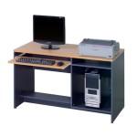 โต๊ะคอมพิวเตอร์แบบมีที่วาง CPU scu 120-2