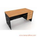 โต๊ะทำงาน 3 ลิ้นชัก TWL-1503-75