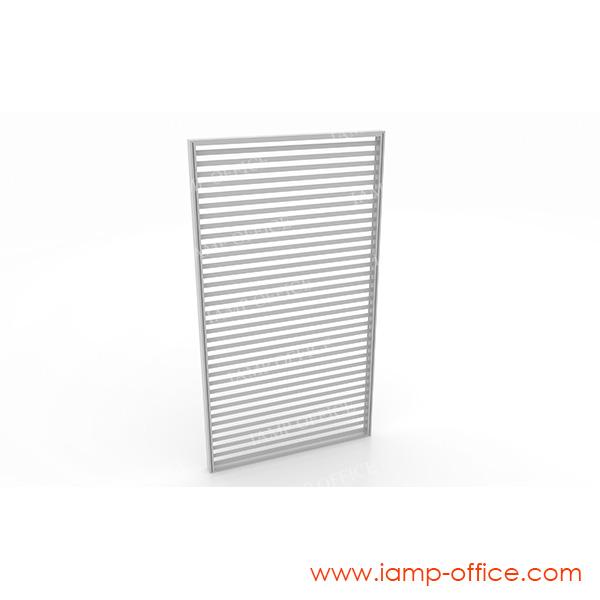 พาร์ติชั่นกระจกขัดลายเต็มแผ่น สูง 180 Cm. แบบไม่มีกล่องไฟ / มีกล่องไฟ