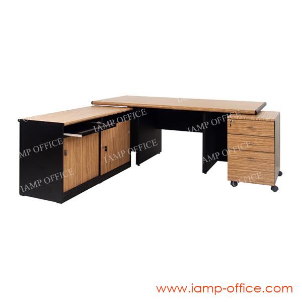 ชุดโต๊ะทำงานผู้บริหาร EXC 200 SET