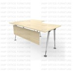 โต๊ะทำงานขาเหล็ก APLS-1687 R