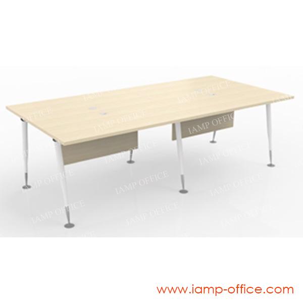 โต๊ะทำงาน 4 ที่นั่ง รุ่น AP-SERIES ขนาด 240x120x75 Cm.