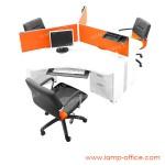 โต๊ะทำงาน-3-ที่นั่ง-รุ่น-CALL-120-P-SET