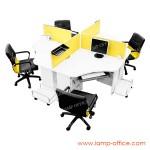 โต๊ะทำงาน 4 ที่นั่ง รุ่น CALL 360 P