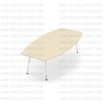 โต๊ะประชุมขาเหล็ก รุ่น APCB-2412