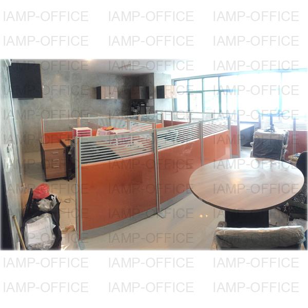 โต๊ะทำงาน L-SHAPE 4 ที่นั่ง
