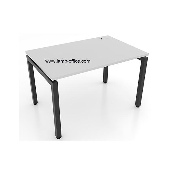 โต๊ะทำงานโล่ง ขนาดโต๊ะลึก 80 Cm. รุ่น AMBER