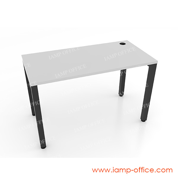 โต๊ะทำงานโล่ง ขนาดโต๊ะลึก 60 Cm. รุ่น AMBER