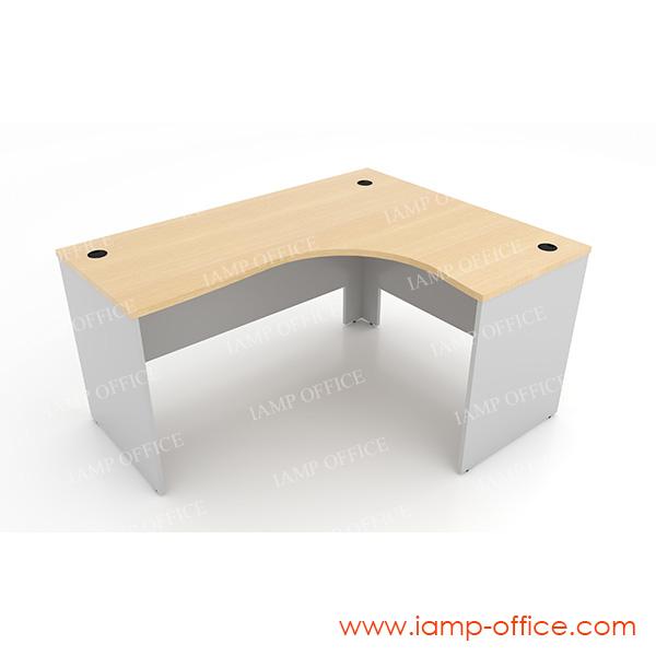 โต๊ะทำงานโล่ง แบบ L-SHAPE DESK (4)