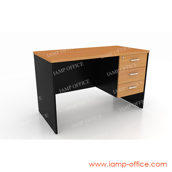 โต๊ะทำงาน 3 ลิ้นชัก มีหลายขนาด