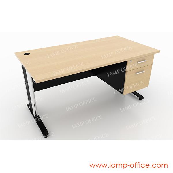 โต๊ะทำงานแบบมี 2 ลิ้นชัก (2)