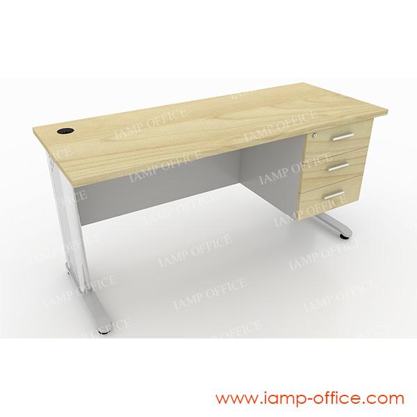 โต๊ะทำงานแบบมี 3 ลิ้นชัก (2)