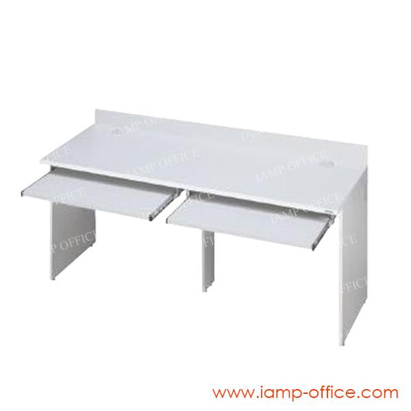 โต๊ะคอมพิวเตอร์ไม้ 2 ที่นั่ง IAM 166