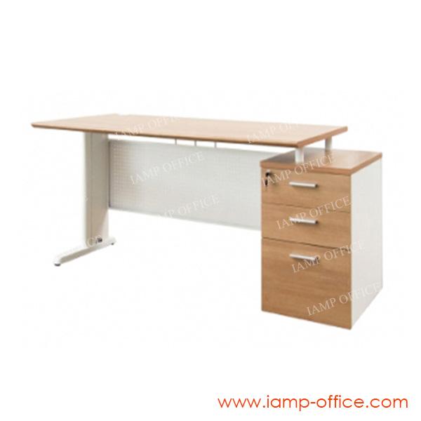 โต๊ะทำงานผู้บริหาร WHITE PLUS SET