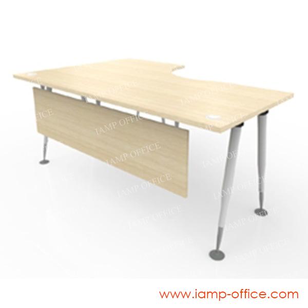 โต๊ะทำงาน L-SHAPE ขาเหล็ก รุ่น AP-SERIES