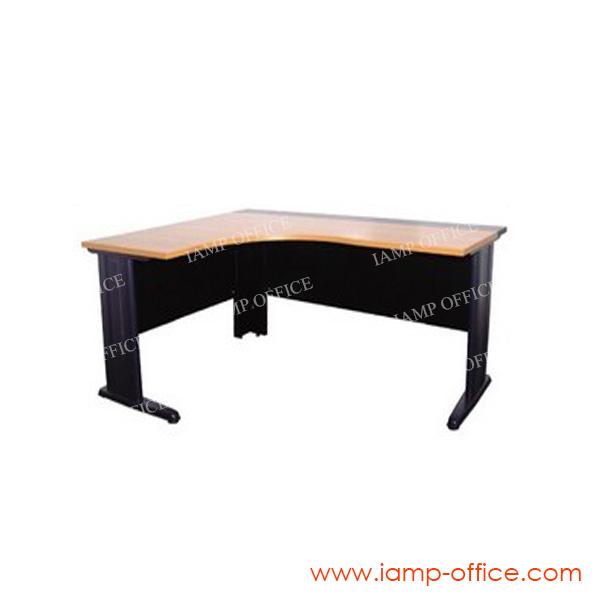 โต๊ะทำงาน L-SHAPE (140) ขนาด 160x140x60x80x75 Cm.