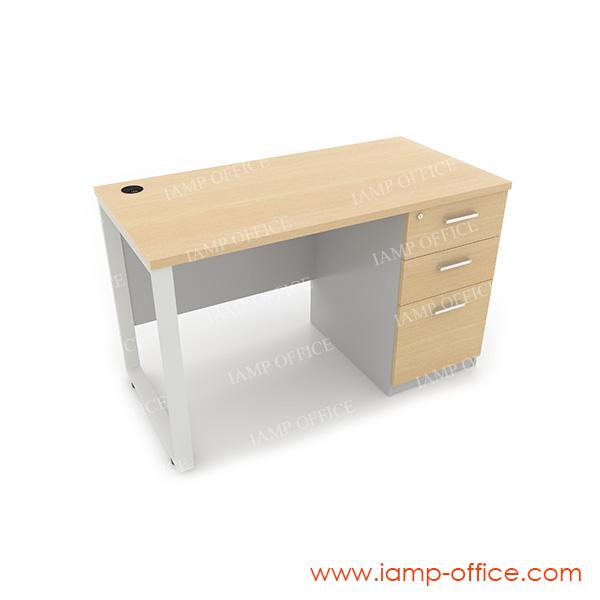 โต๊ะทำงาน 3 ลิ้นชัก ด้านขวา สำหรับโต๊ะลึก 60 Cm.