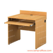 โต๊ะคอมพิวเตอร์ไม้ 1 ที่นั่ง IAM 165