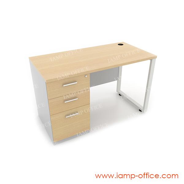 โต๊ะทำงาน 3 ลิ้นชัก ด้านซ้าย สำหรับโต๊ะลึก 60 Cm.