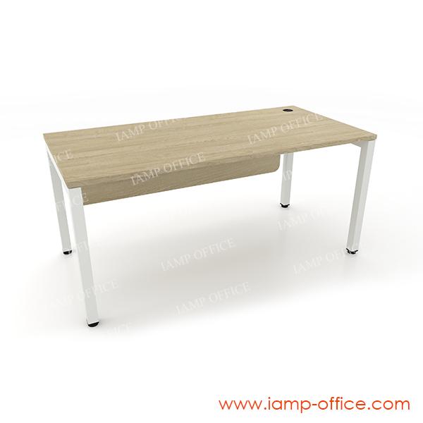 โต๊ะทำงานโล่ง รุ่น AMBER ขนาดโต๊ะลึก 80 Cm.