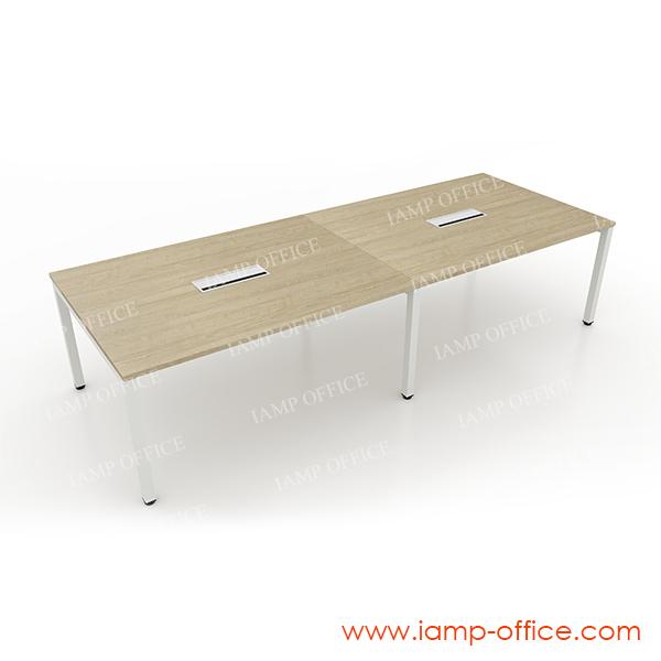 โต๊ะประชุม รุ่น AMBER SERIES ขนาด 320 x 120 x 75 Cm. (มีกล่องไฟ)