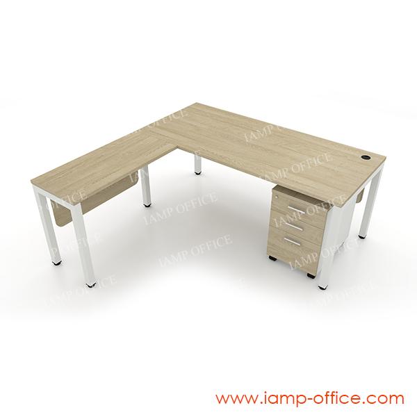ชุดโต๊ะทำงานรุ่น AMBER SERIES SET B
