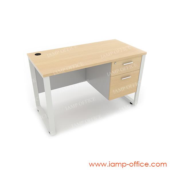 โต๊ะทำงาน 2 ลิ้นชัก ด้านขวา สำหรับโต๊ะลึก 60 Cm.