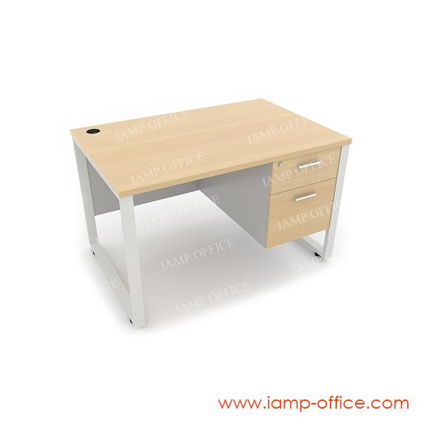 โต๊ะทำงาน 2 ลิ้นชัก ด้านขวา สำหรับโต๊ะลึก 80 Cm.