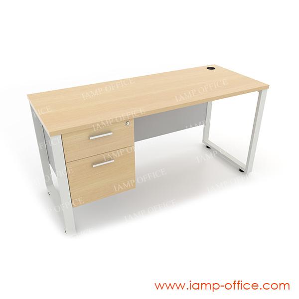 โต๊ะทำงาน 2 ลิ้นชัก ด้านซ้าย สำหรับโต๊ะลึก 60 Cm.