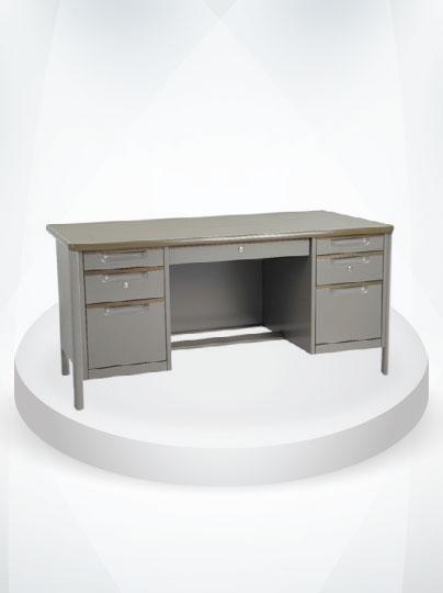 โต๊ะทำงานเหล็ก / โต๊ะคอมพิวเตอร์เหล็ก
