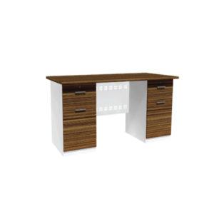 โต๊ะทำงาน 2 ลิ้นชัก (ซ้าย-ขวา)