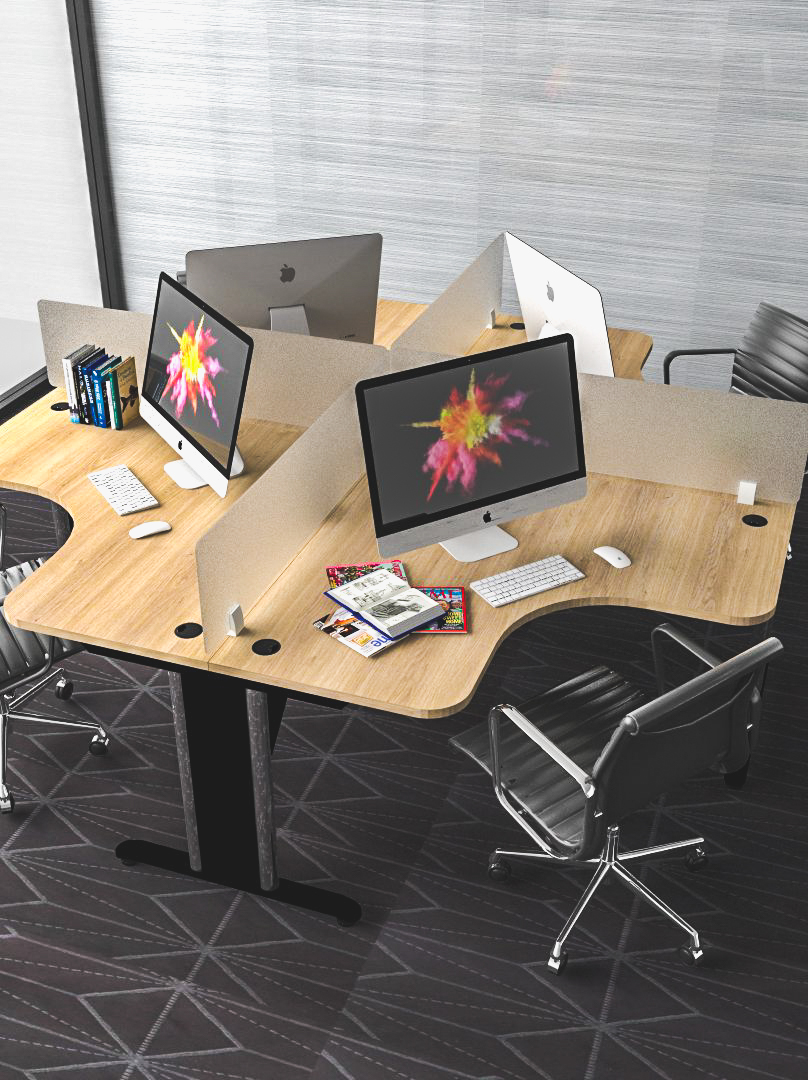 โต๊ะทำงานแบบกลุ่ม